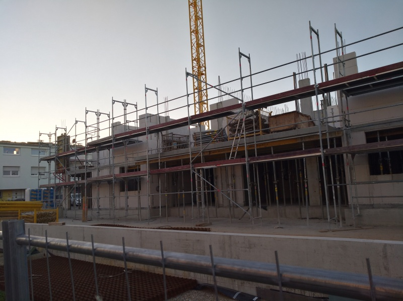 09.07.2020 Haus 1 Erster Stock wächst